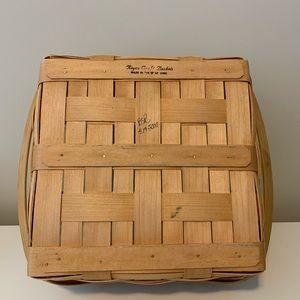 Longaberger- Royce Craft basket